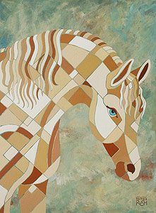 White Horse by Barbara Rush