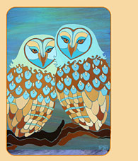 owls in art owl art contemporay owl art
